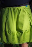 Spódniczka krótka - limonkowa