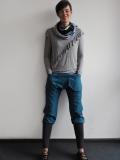 Spodnie BoNoBo niebieskie